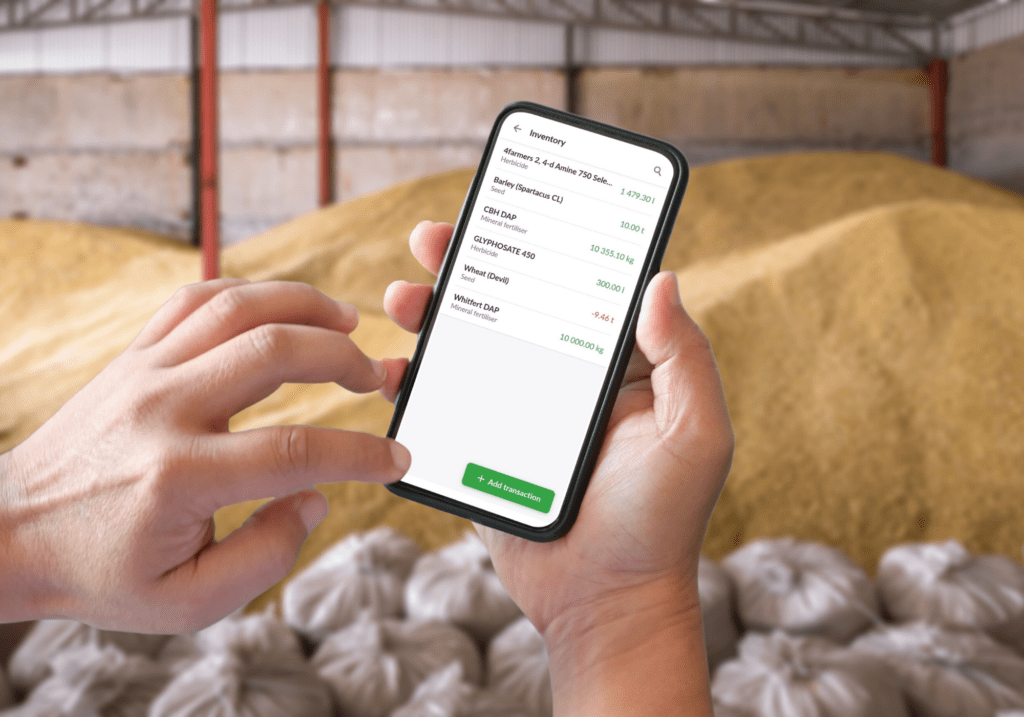 Tracking Inventory Transactions With a Farm Management Software