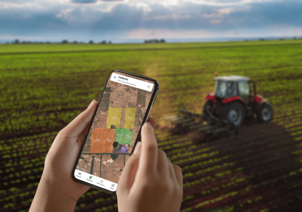 Managing Paddock Maps With a Farm Management Software
